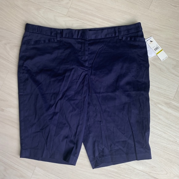 Laundry By Shelli Segal Pants - Laundry by Shelly Segal navy capris size 14